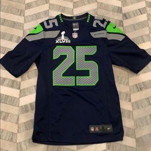Richard Sherman Seahawks super Bowl XLVIII